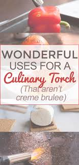 uses for a culinary torch that aren t creme brulee many people might think