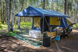 the trailer tent tap trailer guide including the awning