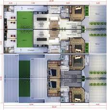 Está pensando em comprar um sobrado geminado, mas ainda está na dúvida? 30 Fachadas De Estilo Colonial Clasicas Y Modernas Com Imagens Plantas De Sobrados Floor Plan Geminado
