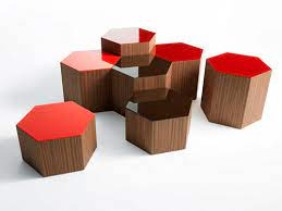 contemporary coffee table six bross
