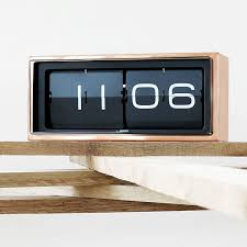 the brick clock from leff amsterdam was designed by dutch designer erwin termaat designed using