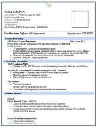 Best Sample Resume For Freshers Engineers Fresher Engineering Resume Format Free Download Resume
