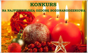 Znalezione obrazy dla zapytania konkurs na najpiękniejszą ozdobę bożonarodzeniową
