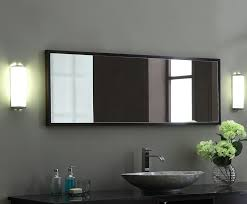 xylem blox 60 inch bathroom mirror for amazing home with regard to designs 3