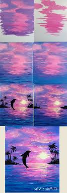 acrylic canvas painting for kids step by step drawing artistic