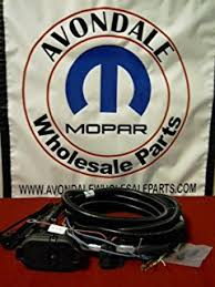 jeep wrangler jk 7 pin trailer wiring oem mopar jeep amazon com 2011 grand cherokee towing trailer wiring harness on jeep wrangler jk 7 pin trailer