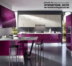 how to choose best kitchen colors 2015 modern purple kitchens