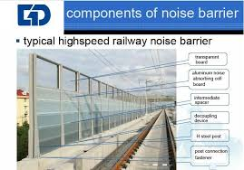 noise barrier for sound insulation