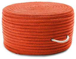 Orange round ottoman Orange Velvet Braided Simply Home Solid Pouf Poufottoman Orange Round 20 Houzz Braided Simply Home Solid Pouf Poufottoman Orange Round 20