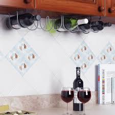 ... Bottle Under Cabinet Wine Rack Ikea Design: Amusing Under Cabinet Wine  Rack Design ...