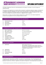 diploma supplement diploma supplement the diploma supplement follows the model developed by the european commission