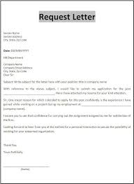 Simple Request Letter For Certificate Of Employment Sample