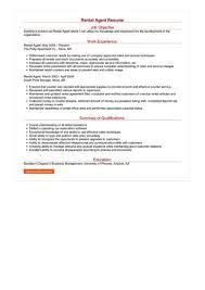 Rental Resume Kordurmoorddinerco Beauteous Rental Resume
