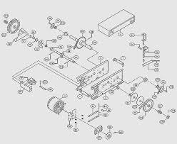 liftmaster garage door opener parts diagram fresh liftmaster mh model medium duty hoist operator parts breakdown