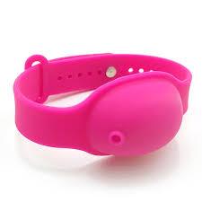 <b>Reusable Wristbands Hand Sanitizer</b> Dispensing Portable <b>Bracelet</b> ...