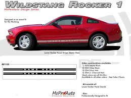 2005 Mustang Color Chart Details About Lower Rocker Panel Stripes Factory Style Decal Graphics 2005 2014 Mustang Text