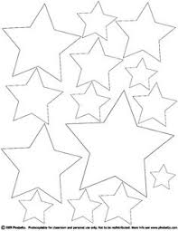 Small Picture 5 Pointed star shape Free Printables free printable shape