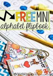Free Alphabet Printable A Mini Flipbook The Measured Mom