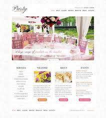 Event Planner Website Template 37762