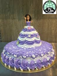 Customised Barbie Doll Birthday Cake Food Drinks Baked Goods