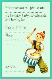birthday invite for boys