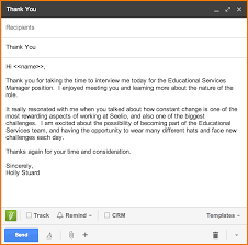 5 Thank You Email For Interview Expense Report