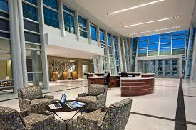 office building interior design. Modren Building Interior Design Of Federal Office With Wicker Furniture In Building R