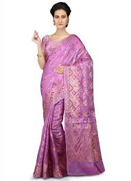Light Purple Color Saree Buy Light Purple Pure Silk Saree Zari Sari Online Shopping Savns28