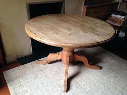 wonderful round pine pedestal dining table antique round pine pedestal dining intended for round pine pedestal dining table popular