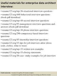 ... 12. Useful materials for enterprise data architect ...