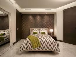 brown accent wall oversized floor mirror bedroom contemporary with beige headboard oversized floor mirror bedroom contemporary with beige headboard