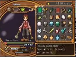 Dark Cloud 2 Weapon Chart Dark Cloud 2 Weapon Leveling Part 3 Synthesizing