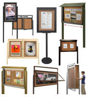 Free Standing Display Board Free Standing Bulletin Boards at Displays100Sale 48