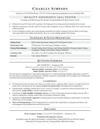 Software Testing Resume Samples For Experienced Resume Qa Resume 24