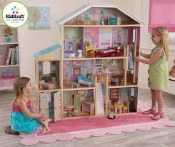 wooden barbie doll house furniture. KidKraft Majestic Mansion Dollhouse With Furniture Large Wooden Dollhouses Barbie Doll House
