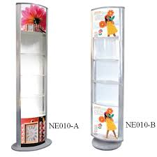 Jewelry Display Floor Stands Round Acrylic Jewelry DisplayCheap Advertising Display Light Box 89