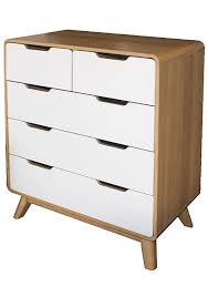 save furniture. Big Save Furniture - Retro Chest Oak/White Scandi Inspired Onceit