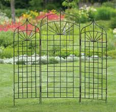 Small Picture Build a Cheap Metal Garden Trellis Planter Designs Ideas