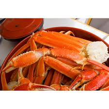 a plate of snow crab legs
