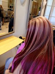 Red Hair With Blonde Highlights Love