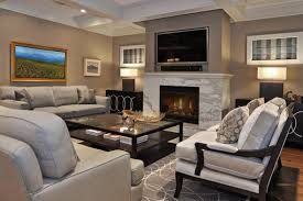Cozy Modern Living Room With Fireplace Stone For Ideas