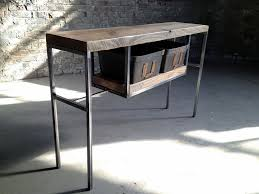 diy industrial sofa table