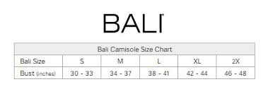 Bali Size Chart Bali Comfort Revolution Smart Sizes Convertible Wirefree Bra