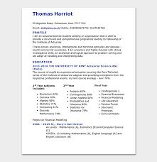 Actuarial Resume Template Free Samples Examples Plus
