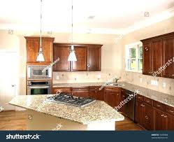 kitchens with island stoves. Fascinating Island Stove Top Large Kitchen With Corner Luxury Stock Photo . Kitchens Stoves