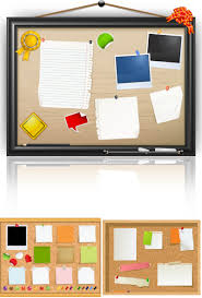 pin board for office. #Message Cork Board Vector Pin For Office