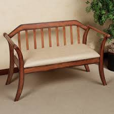 Bench For Bedroom Tags  Bench With Back Padded Bench Bench Seat Bench With Padded Seat