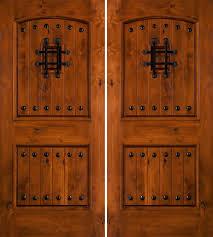 double front doors. Catchy Rustic Double Front Doors With Knotty Alder Exterior Double Front Doors