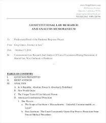 Memorandum Sample Persuasive Legal Memorandum Of Advice Template Law Audit Memo Format