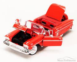 1958 Chevrolet Impala Convertible, Red - Motormax Premium American ...